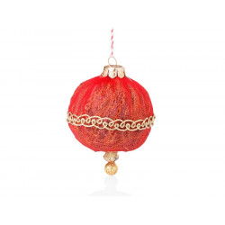 Christmas ball colore rosso